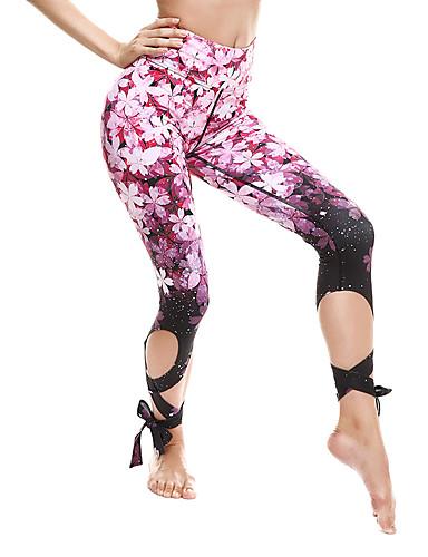 povoljno Vježbanje, fitness i joga-Žene Hlače za jogu Trčanje Fitness Trening u teretani Donji Odjeća za rekreaciju Prozračnost Ovlaživanje Quick dry Butt Lift Rastezljivo