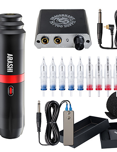 cheap Tattoo Pen kits-Professional Tattoo Kit Tattoo Machine - 1 pcs Tattoo Machines, Professional / Adjustable / Removable Aluminum Alloy Tattoo Pen