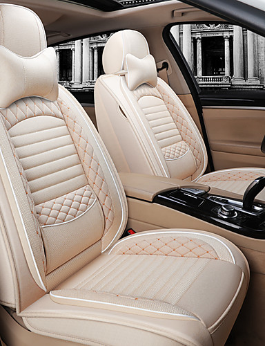 Colour with Leopard Print Panamar Universal Breathable Faux Leather Car Seat Cushion Non-Roll Comfortable Color Seat