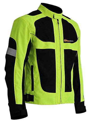 povoljno Odjeća za vožnju biciklom-Muškarci Biciklistička jakna Bicikl Zimska jakna Odjeća za motocikle Majice Ugrijati Vjetronepropusnost Quick dry Sportski Likra Zima Siva / Crna / Green Brdski biciklizam biciklom na cesti Odjeća