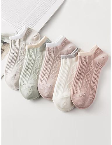Жен. Средней плотности Носки - Мода 50D Цвет радуги Один размер