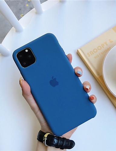 Θήκη Za Apple iPhone 11 / iPhone 11 Pro / iPhone 11 Pro Max Otporno na trešnju / Ultra tanko Stražnja maska Jednobojni TPU