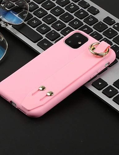 Case Kompatibilitás Apple iPhone 11 / iPhone 11 Pro / iPhone 11 Pro Max Áttetsző Fekete tok Egyszínű TPU