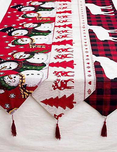 povoljno Božićni tekstil-posteljina božićni elk snjegović stolni privjesak veseli božićni ukrasi za dom xmas ukrasi za 2019. godinu