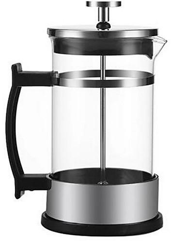 preiswerte Kaffeemaschinen-Presse Kaffeemaschine Set Geschenk Glas Teekocher Edelstahl