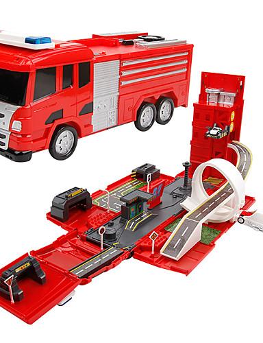 preiswerte Spielzeuge & Spiele-Spielzeug-Autos Feuerwehr Autos Feuerwehrauto Transformierbar Eltern-Kind-Interaktion PP+ABS Alumniumgemisch Jungen Mädchen