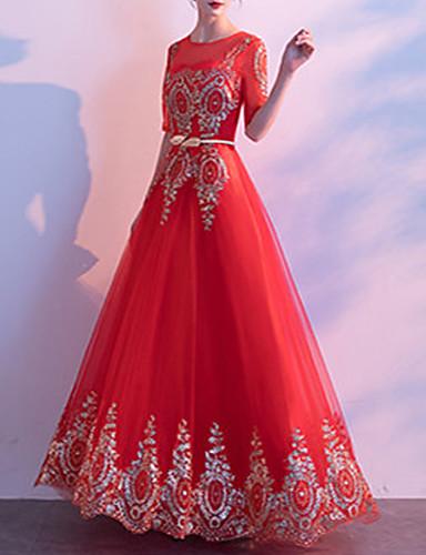 levne Maxi šaty-Dámské Elegantní Swing Šaty - Pléd, Síťka Patchwork Maxi