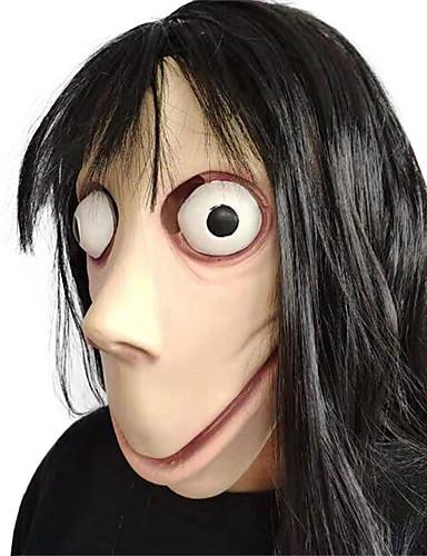 povoljno Maske i kostimi-Mask Rekviziti za Noć vještica Maska za Noć vještica Inspirirana Ghost Stravičan film Crn Masks Halloween Halloween Muškarci Žene