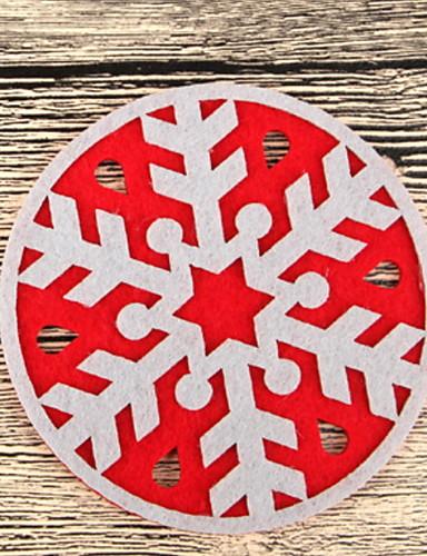 preiswerte Weihnachten Küche-Trinkgefäße Untersetzer Weicher Kunststoff Mini Lässig / Alltäglich