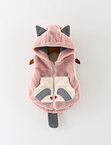 Baby Girls' Basic Print Jacket & Coat White