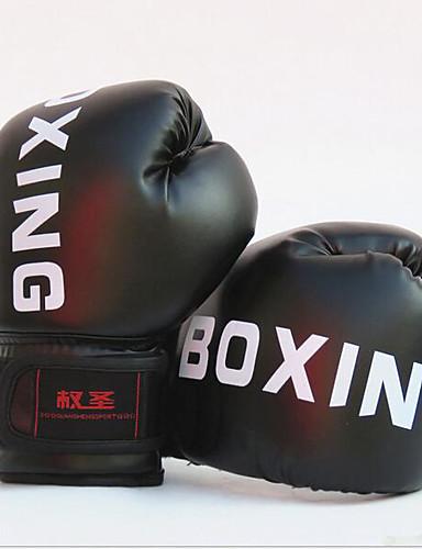 povoljno Vježbanje, fitness i joga-Boksačke rukavice za ttrening Za Taekwondo, Boks, Muay Thai boks, Sanda Rukavica Anti Shark, Cushioning, Anti-Wear Terilen Crn / Crvena