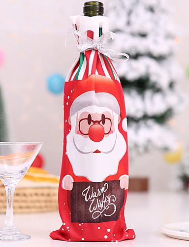 preiswerte Weihnachten Küche-Textil Bar- & Weinutensilien Ministil Alltag Barware