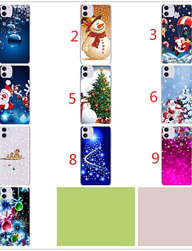 Case Kompatibilitás Apple iPhone 11 / iPhone 11 Pro / iPhone 11 Pro Max Minta Fekete tok Karácsony TPU