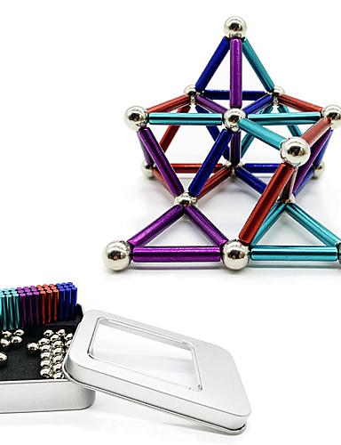 preiswerte Spielzeug & Hobby Artikel-63 pcs Magnetspielsachen Magnetische Bälle Magnetspielsachen Superstarke Magnete aus seltenem Erdmetall Magnetisch Stress und Angst Relief Büro Schreibtisch Spielzeug Lindert ADD, ADHD, Angst