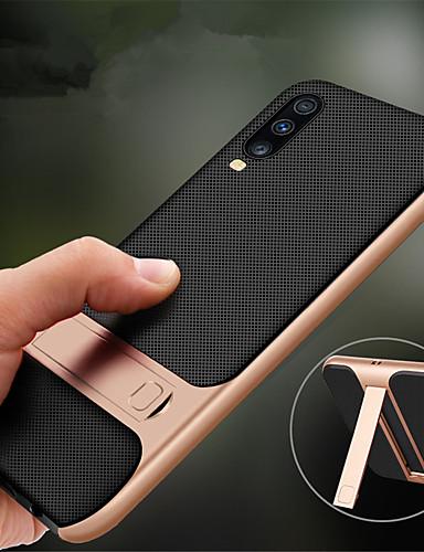 tok a samsung galaxishoz A70 / a50 állvány hátlapjával egyszínű tpu / pc telefon tok a samsung galaxishoz a40 / a30 / a20 / a10