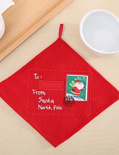 preiswerte Weihnachten Küche-Trinkgefäße Untersetzer PVC (Polyvinylchlorid) Mini Lässig / Alltäglich