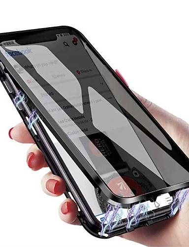 Θήκη Za Apple iPhone 11 / iPhone 11 Pro / iPhone 11 Pro Max Otporno na trešnju / Protiv prašine Korice Jednobojni / Oklop Kaljeno staklo / Metal