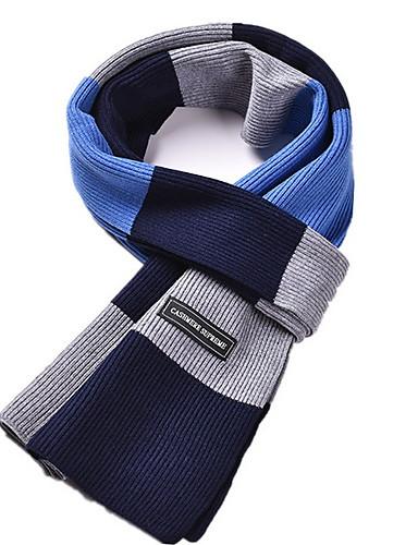 cheap Men's Scarves-Men's Basic Rectangle Scarf - Print