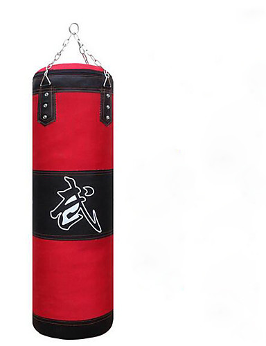 povoljno Vježbanje, fitness i joga-Vreća s pijeskom Za Taekwondo Boks Obrazac Fit PU koža Oxford tkanje Crn