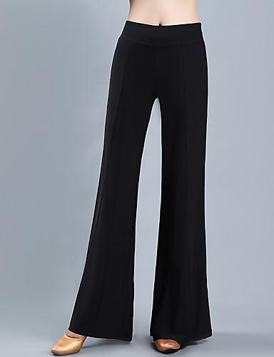 levne Shall We®-Standardní tance Spodní část oděvu Dámské Trénink / Výkon Polyester / Průzračná bavlna Klín Vysoký Kalhoty