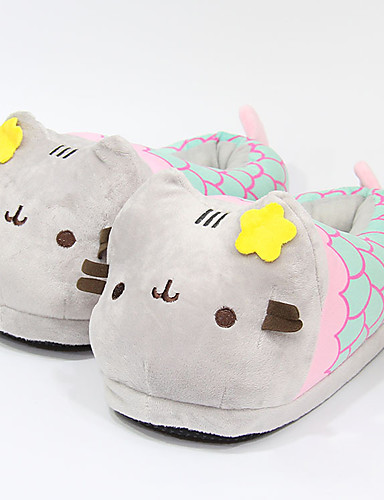 cheap 11.11 - Home Textiles Best Sale-Women's Slippers / Girls' Slippers House Slippers Casual PP (Polypropylene) solid color Shoes