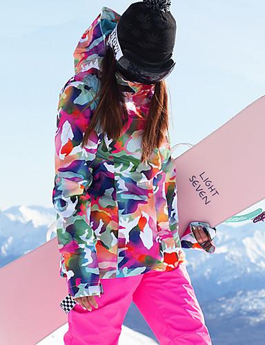 levne Kayaklar ve Snowboardlar-GSOU SNOW Dámské Lyžařská bunda a kalhoty Zimní sporty Kayak Gözlükleri Lyže Zimní sporty POLY Celotělové oblečení Oblečení na lyže / Zima / maskování
