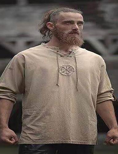 billige T-skjorter i plusstørrelse til herrer-T-skjorte Herre - Ensfarget Svart