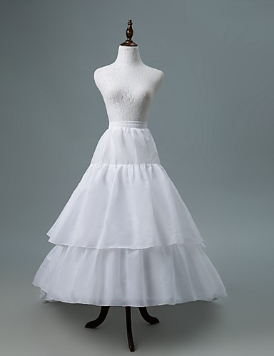 cheap Wedding Accessories-Wedding / Party & Evening Slips Polyester / POLY Cathedral-Length Chapel Train / Bridal with