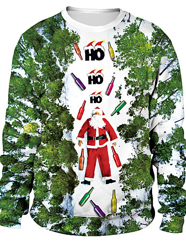 povoljno Maske i kostimi-Sa životinjama Božićni džemper Odrasli Par je Stilski Božić Halloween Festival / Praznik Spandex Poliester Light Pink / Obala / Blushing Pink Par je Karneval kostime / Top