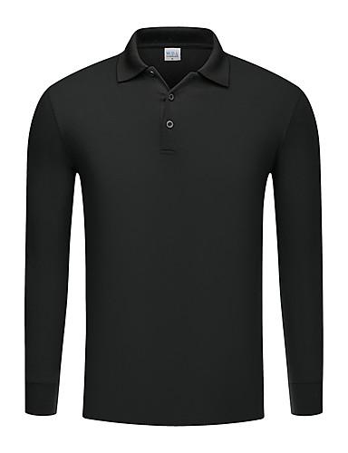 Férfi Polo - Egyszínű Fekete
