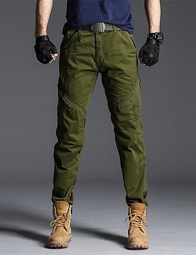 preiswerte Jogginghose-Herrn Street Schick / Militär Chinos / Jogginghose Hose - Solide Sportlich Schwarz Armeegrün Dunkelgray US32 / UK32 / EU40 US34 / UK34 / EU42 US36 / UK36 / EU44