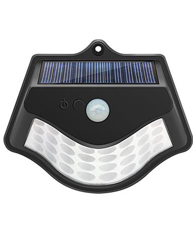 preiswerte LED-Lichter-1 stück 4 watt außenwandleuchten / led straßenlaterne / solar wandleuchte wasserdicht / solar / infrarot sensor warmweiß + weiß 3,7 v außenbeleuchtung / garten 32 led perlen