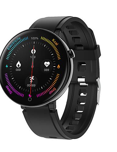 Intelligens Watch Digitális Modern stílus Sportos Szilikon 30 m Vízálló Szívritmus monitorizálás Bluetooth Digitális Alkalmi Szabadtéri - Fekete Barna Kék