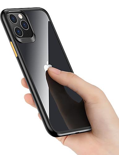 Case Kompatibilitás Apple iPhone 11 Pro / iPhone 11 Pro Max Ütésálló Fekete tok Egyszínű TPU