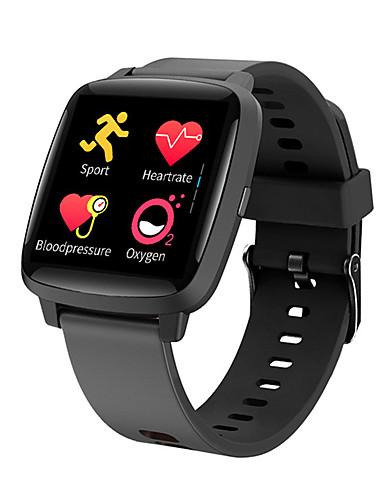 Intelligens Watch Digitális Modern stílus Sportos Szilikon 30 m Vízálló Szívritmus monitorizálás Bluetooth Digitális Alkalmi Szabadtéri - Fekete Piros Rózsaszín