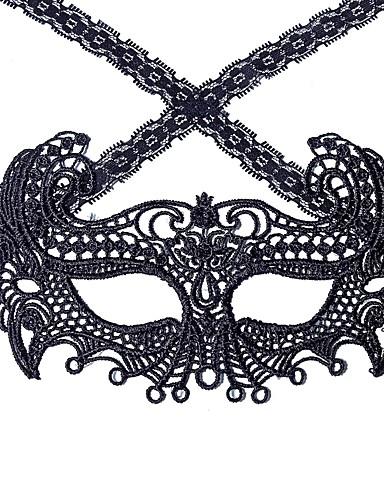 preiswerte Mundmaske für Frauen-Damen Spitze Mund Maske - Spitze Solide