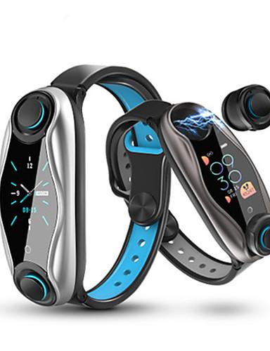 povoljno Satovi za parove-Par je Smart Satovi Šiljci za meso Sportski Silikon Crna 30 m Heart Rate Monitor Bluetooth Smart Šiljci za meso Moda - Crn Sive boje Jedna godina Baterija Život