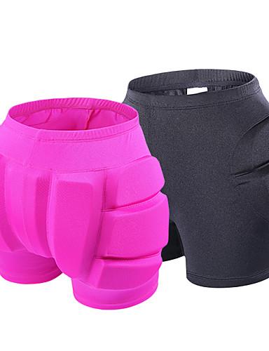 povoljno Korcsolyázás-Kratke hlače sa zaštitom od udarca / Podstavljene kratke hlače sa steznikom za Skijanje / Klizanje na ledu / Klizati se Sve Otporne na nošenje / Protection Lycra spandex Crn / Tamno žuta / purpurna