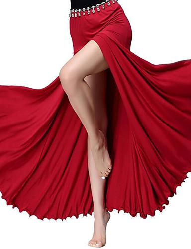 voordelige Shall We®-Buikdans Kleding Onderlichaam Dames Opleiding / Prestatie Modaal Plooien / Split Natuurlijk Rokken
