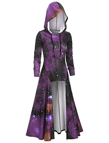 povoljno Najprodavaniji proizvodi-Žene Osnovni Hoodie 3D