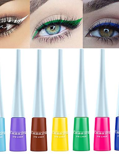 preiswerte Eyeliner-cmaadu 12 color matte eyeliner wasserdicht lang anhaltende lidschatten flüssigkeit kein schwindelerregendes farbstoff augen make-up