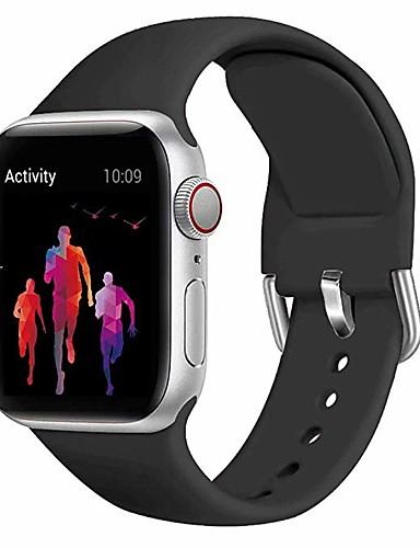 karóra az Apple Watch sorozathoz 5/4/3/2/1 apple sport band szilikon csuklópánt