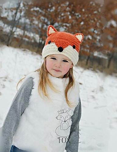 preiswerte Baby & Kinder-Kinder / Baby Unisex Tier Hüte & Kappen Gelb Einheitsgröße