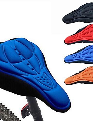 preiswerte Fahrrad Zubehör-Abdeckung für den Fahrradsattel / Kissen Leicht Atmungsaktiv 3D Pad Stoff Synthetik Radsport Freizeit-Radfahren Kunstrad Schwarz Orange Rot