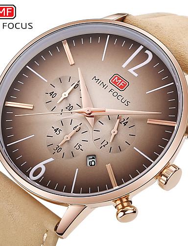 minifocus karóra férfiak felső márka luxus híres férfi óra kvarc óra