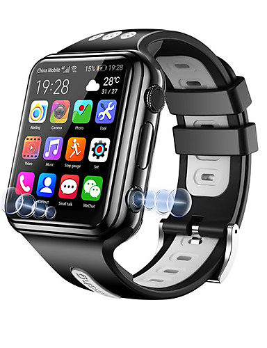 Smartwatch Digital Modern Style Sporty Silicone 30 m Water Resistant / Waterproof Heart Rate Monitor Bluetooth Digital Casual Outdoor - Black / Blue Black / Gray Pink
