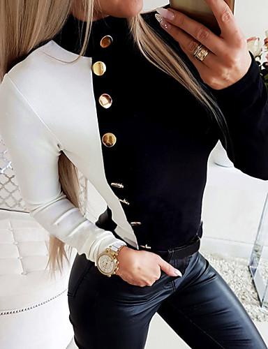 Női Póló - Színes Fekete