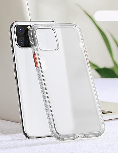 örömteli tok Apple iPhone 11 / iphone 11 pro / iphone 11 pro max ütésálló / ultravékony hátlap egyszínű tpu / pc