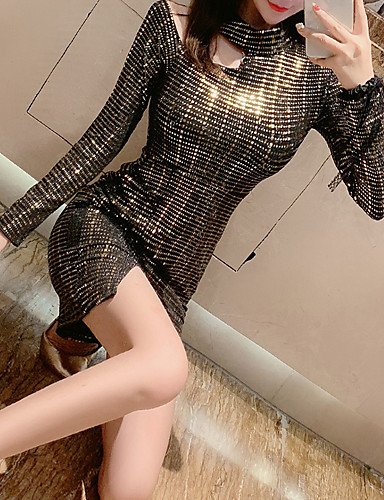 preiswerte Sexy Kleider-Damen Party Bodycon Kleid Knielang