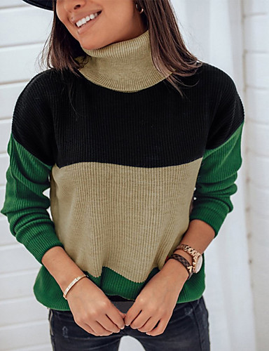 Women's Daily Shirt - Solid Colored Green